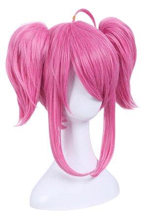 Pink Madoka Anime Cosplay Wig