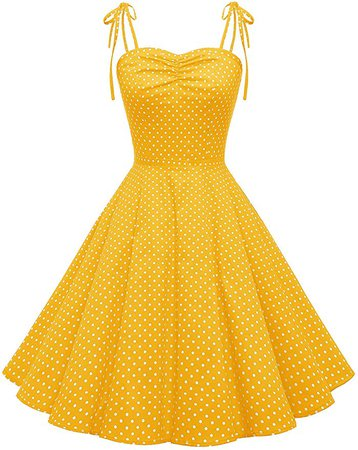 Wedtrend Women's Vintage Polka Audrey Dress 1950s Retro Plaids Cocktail Dress WTP10006BlackXL at Amazon Women's Clothing store