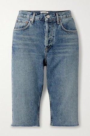 Carrie Denim Shorts - Light denim