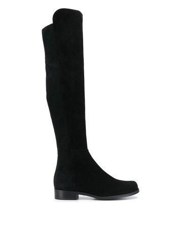 Black Stuart Weitzman Reserve boots - Farfetch