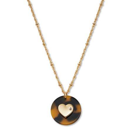 C. Wonder - C. Wonder Women's Heart Pendant Necklace - Walmart.com - Walmart.com