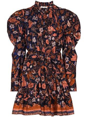 Ulla Johnson Naima floral-print Mini Dress - Farfetch