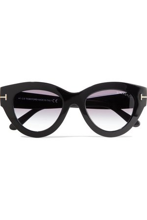 TOM FORD | Slater cat-eye acetate sunglasses | NET-A-PORTER.COM