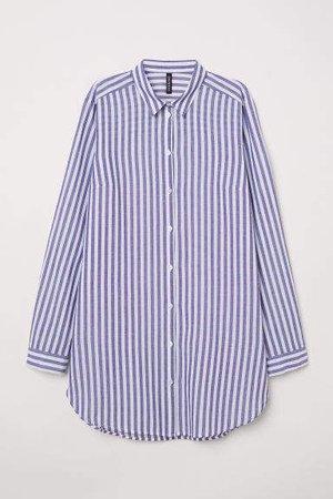 Long Shirt - Blue