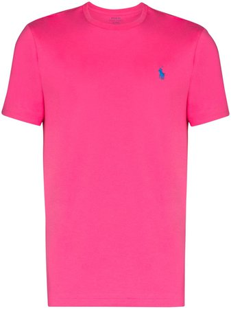 Polo Ralph Lauren Polo Pony Embroidered T-shirt - Farfetch