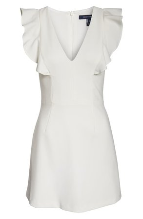 French Connection Whisper Ruffle Minidress | Nordstrom