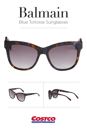 Balmain BL2111 Blue Tortoise Sunglasses