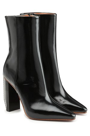 Patent Leather Ankle Boots Gr. EU 40