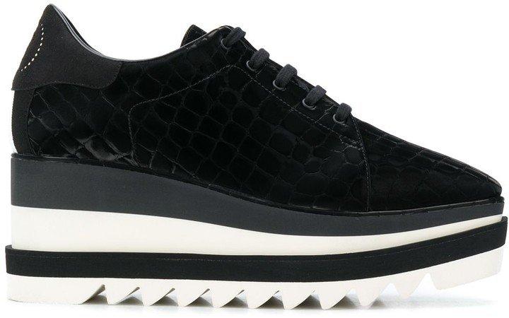 Sneak-Elyse flatform sneakers