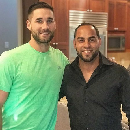 "Jerry Gonzalez on Instagram: ""Thank you for inviting us over for today's meeting KK! Excited for what's ahead! #bms #kevinkiermaier"""