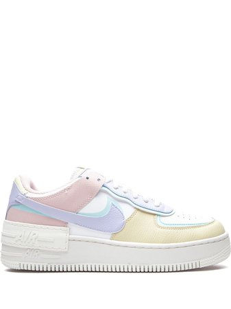 Shop white Nike Air Force 1 Shadow sneakers with Express Delivery - Farfetch