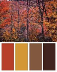 autumn color palette