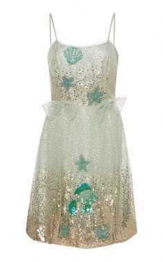 white blue gold glitter dress