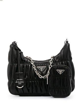 Prada Re-Edition Gaufré Shoulder Bag - Farfetch