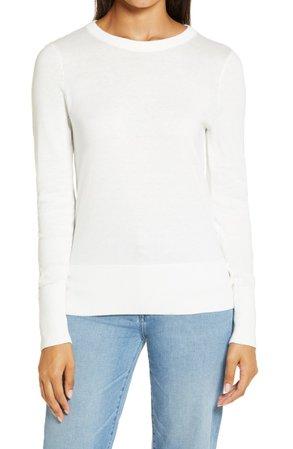 Halogen® Crewneck Sweater   Nordstrom