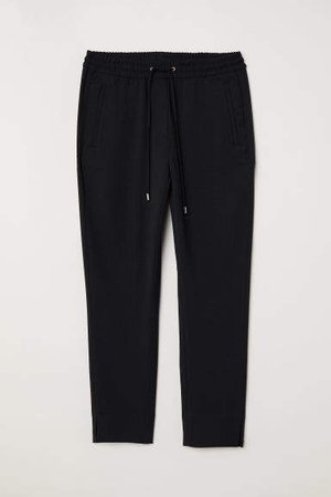 Pull-on Pants - Black