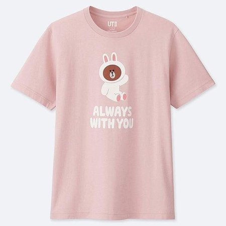 Line Friends Short-sleeve Graphic T-Shirt