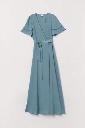Wrap Dress - Turquoise