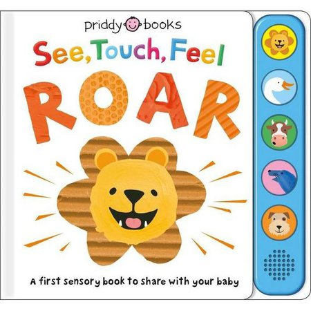 See, Touch, Feel: Roar - By Roger Priddy (Board Book) : Target