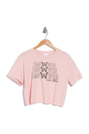 Abound   Graphic Crop T-Shirt   Nordstrom Rack