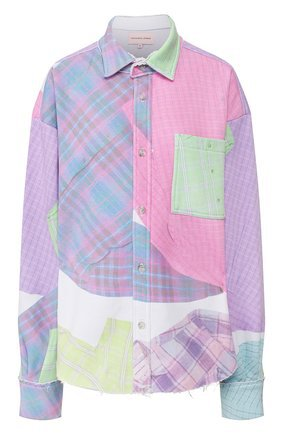 Женская белая хлопковая футболка NATASHA ZINKO — купить за 12800 руб. в интернет-магазине ЦУМ, арт. SS20512-06