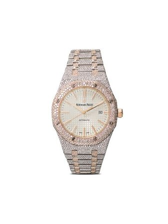 Shop 777 customised Audemars Piguet Royal Oak 41mm with Express Delivery - FARFETCH