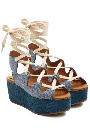 Espadrille Wedge Sandals Gr. EU 38
