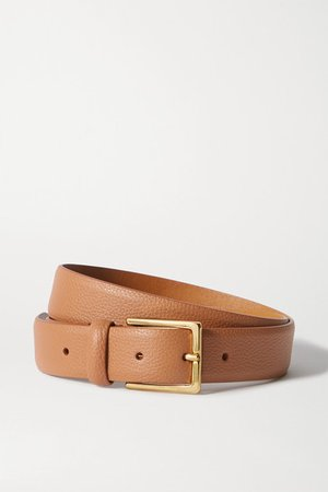 Anderson's | Textured-leather belt