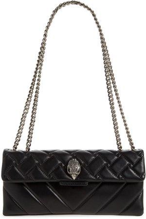 Kensington Quilted Leather Shoulder Bag