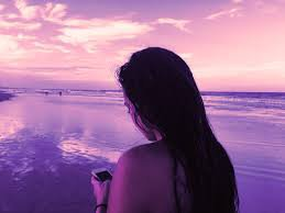 girl at the beach aesthetic photo - Google Search