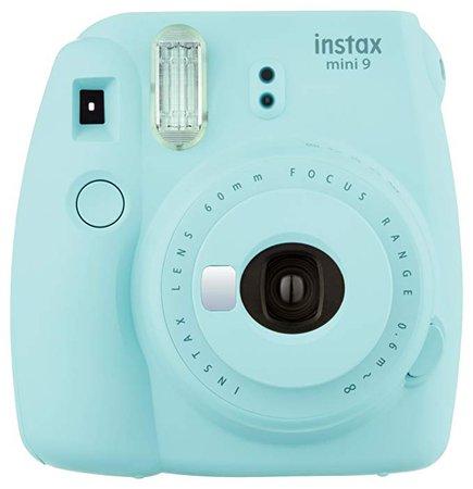 Amazon.com : Fujifilm Instax Mini 9 Instant Camera - Ice Blue : Camera & Photo