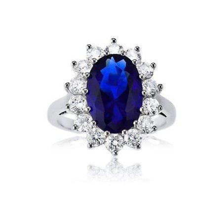 Princess Diana Replica Sapphire Ring