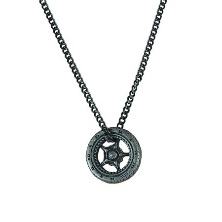 Top Gear Mens Necklace 316L Stainless Steel