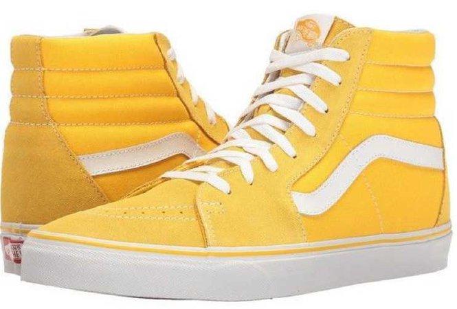 Yellow Vans SK8Hi