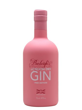 Burleigh's Pink Limited Edition Gin London Dry 70cl : Buy from The Whisky Exchange