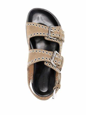 Isabel Marant Ophie stud-embellished Sandals - Farfetch