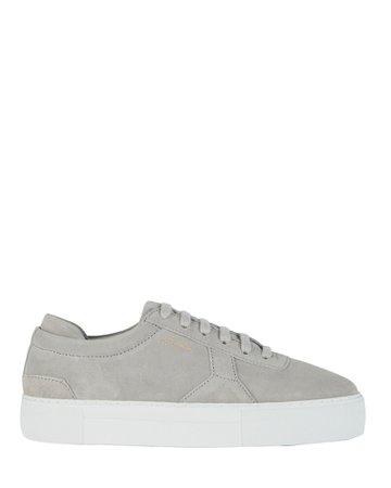 Axel Arigato | Platform Low-Top Suede Sneakers | INTERMIX®