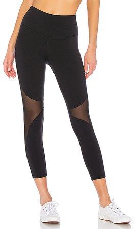alo High Waist Coast Capri Legging in Black | REVOLVE