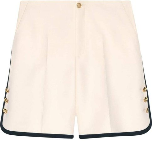 Wool-silk shorts