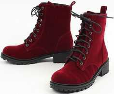 black and red boots - Google Search