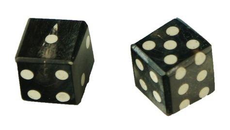 dice black