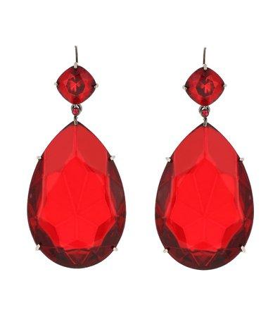 Alexander McQueen Crystal earrings