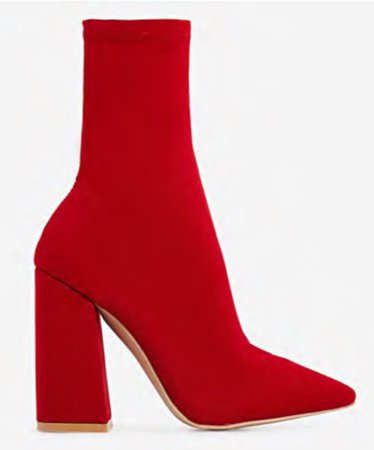 EGO red sock boot