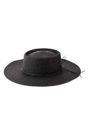 Oval Crown Boater Hat   Nordstrom