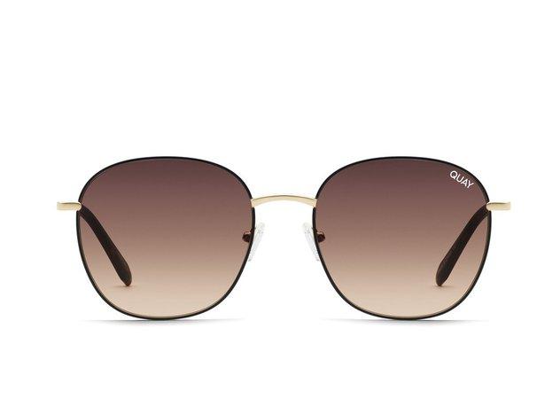 JEZABELL Round Sunglasses   Quay Australia