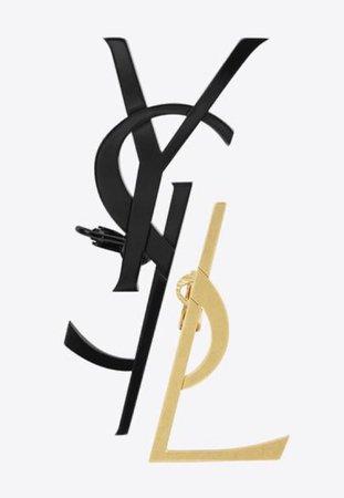 YSL Logo Earcuff