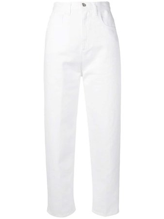 Moncler Calça Mom Jeans - Farfetch