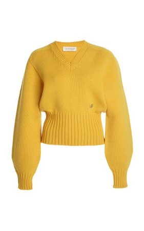Oversized Ribbed Wool-Blend Sweater By Victoria Beckham | Moda Operandi