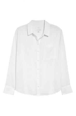 Treasure & Bond Breezy Boyfriend Shirt | Nordstrom