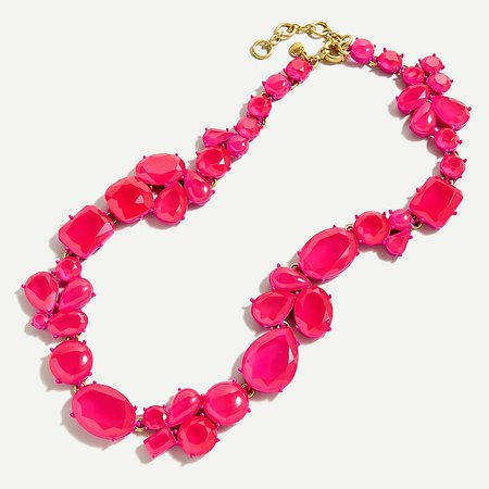 J.Crew: Candy Gem Statement Necklace For Women